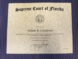 Florida Supreme Court Mediator