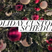 Christmas Custody Schedule